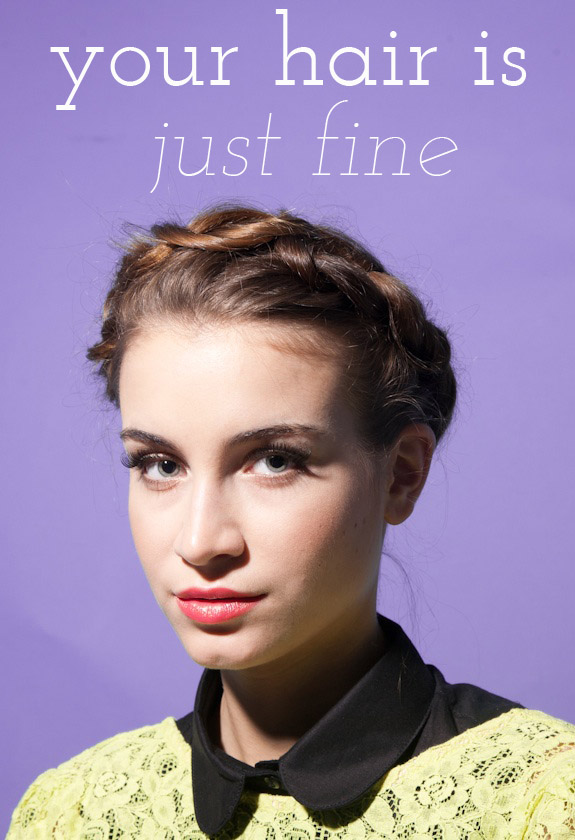 thin hair styling tips your hair is just 1 say yes 6083