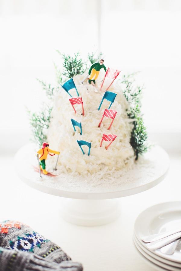 olympic mountain cake