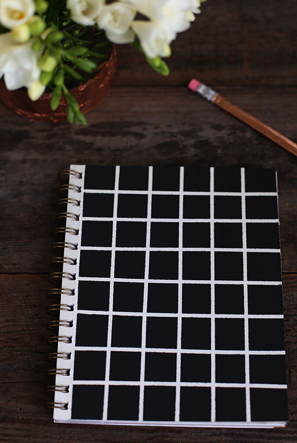 how to make a geometric notebook