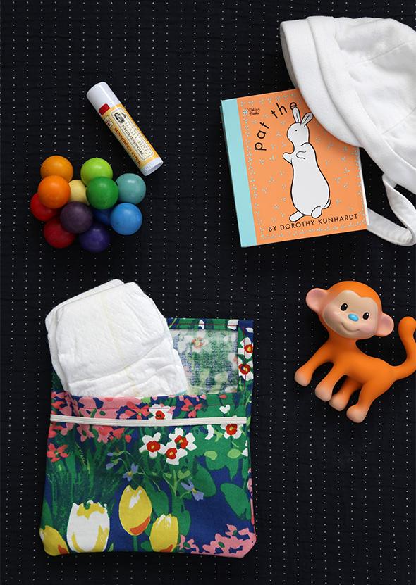 DIY diaper case