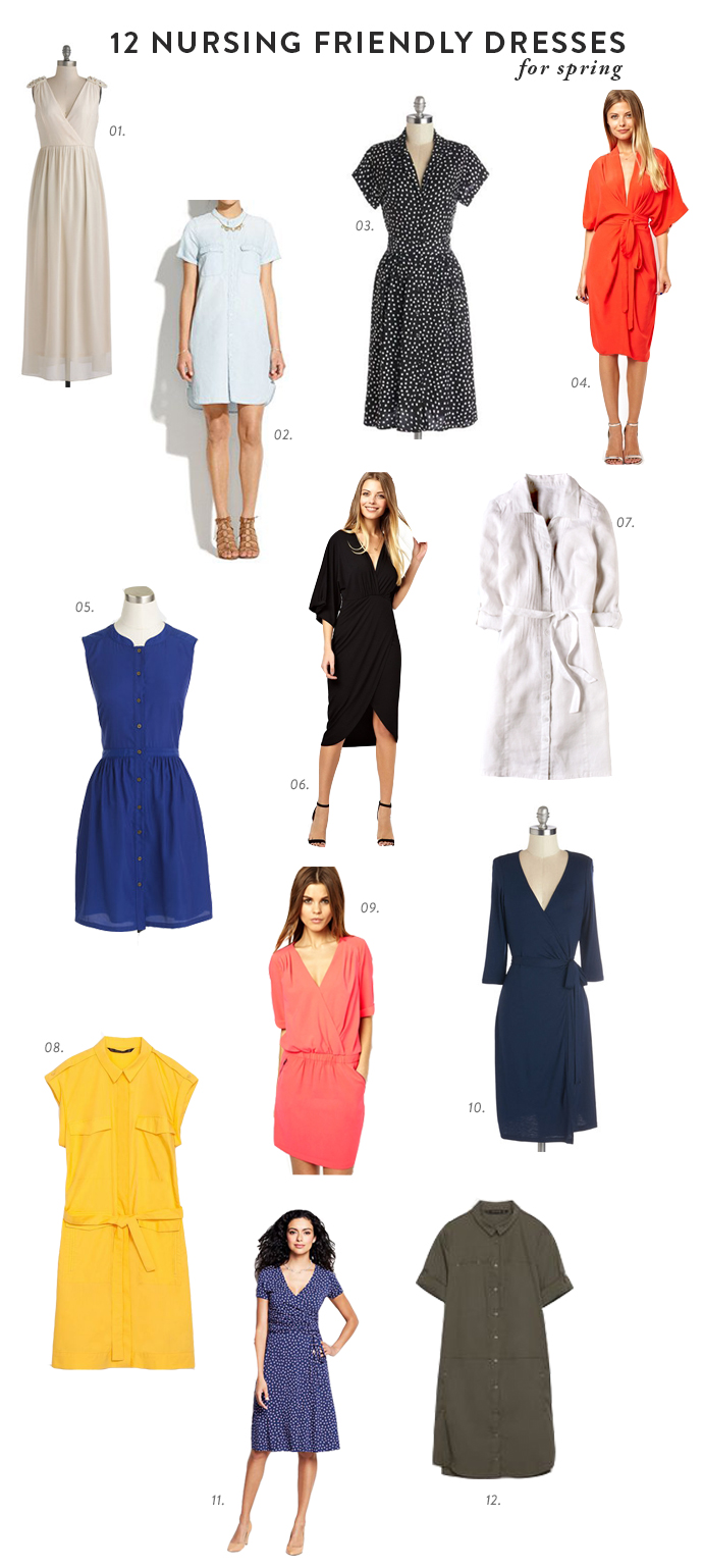 5a1030a11e 12 Nursing Friendly Dresses for Spring - Say Yes