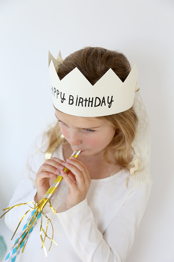 image relating to Birthday Crown Printable identified as Printable Content Birthday Crowns - Say Certainly