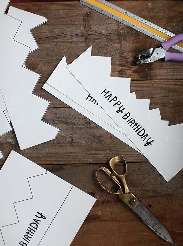 printable happy birthday crowns