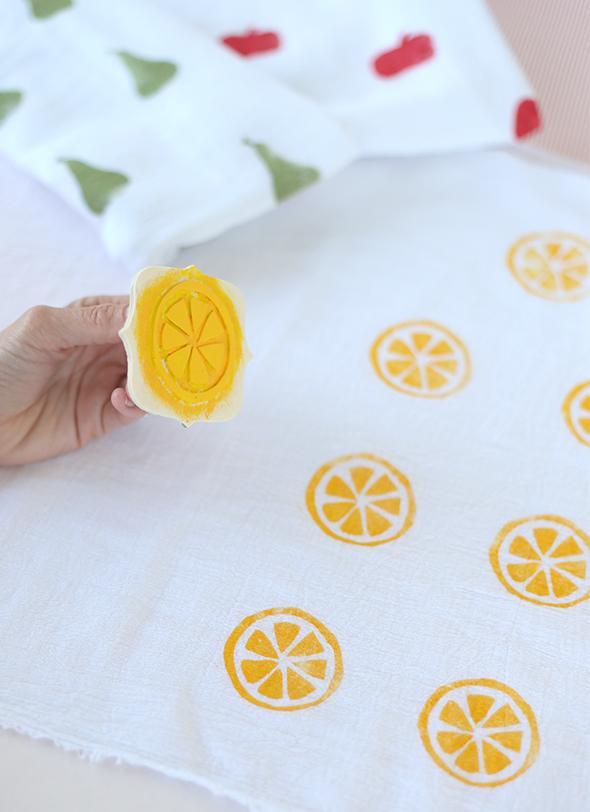 citrus baby shower