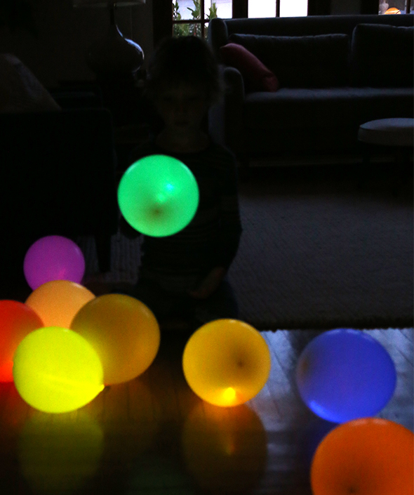 Balloon Sticks Diy Diy Glow Stick Balloons