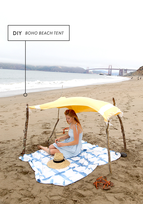 How to Make a Boho Beach Tent  sc 1 st  Say Yes & How to Make a Boho Beach Tent - Say Yes