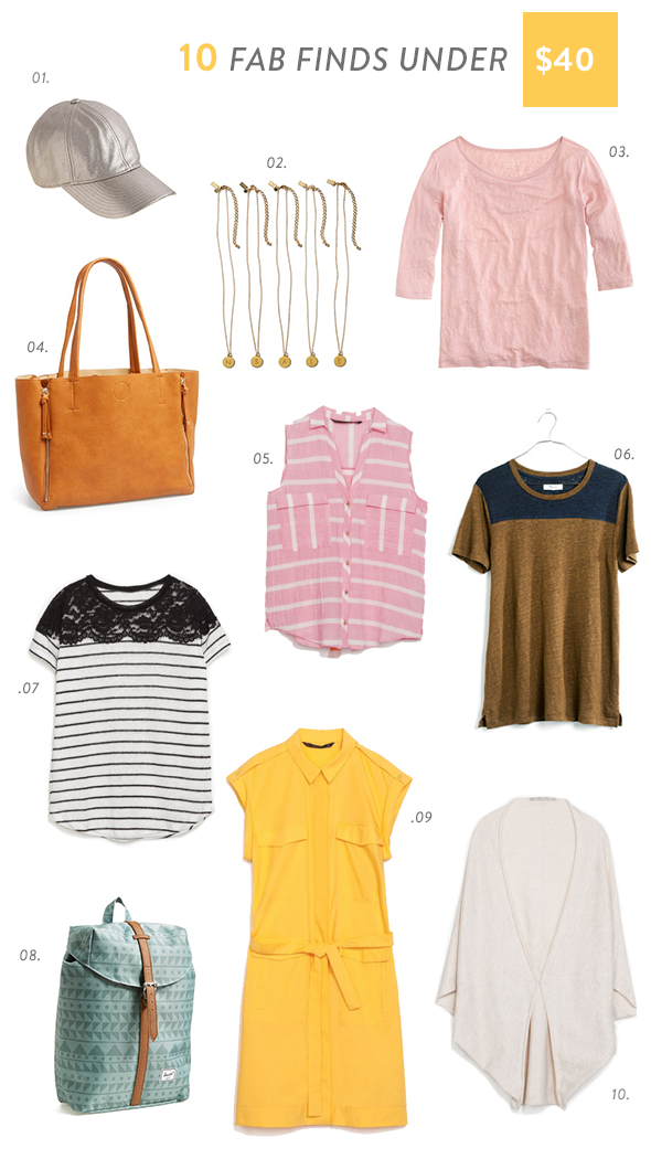 july fab finds