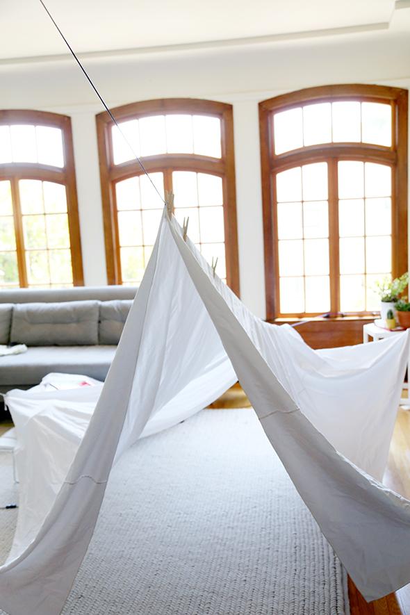 livingroom fort
