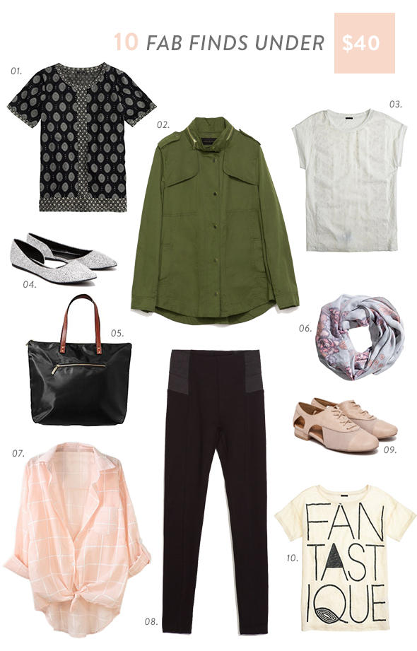 10 FAB FINDS aug