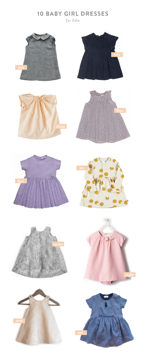 d52daf6cff66 10 favorite baby girl dresses for Edie - Say Yes