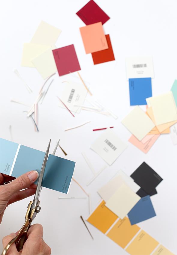 paint chip calendar office depot
