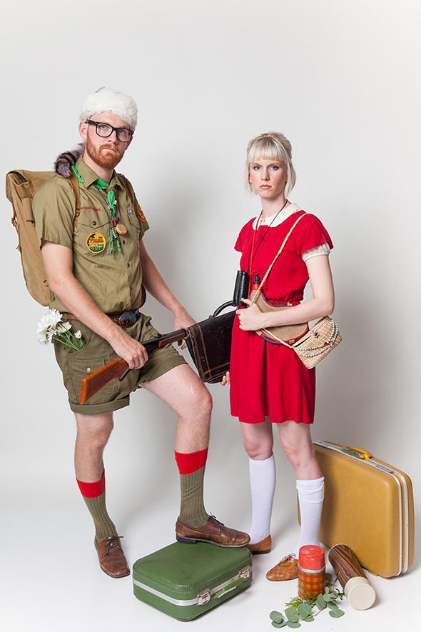 disfraces en pareja exploradores