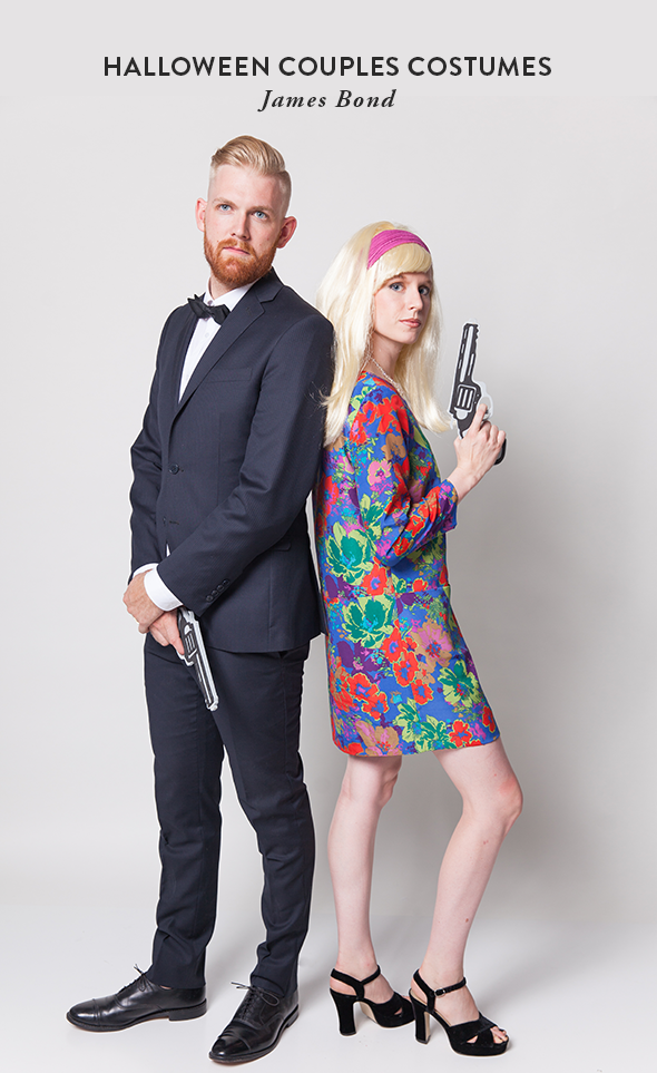 Halloween Couples Costumes: James Bond - Say Yes