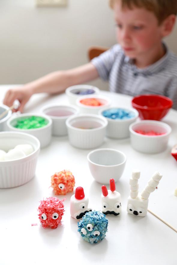 monster marshmallows