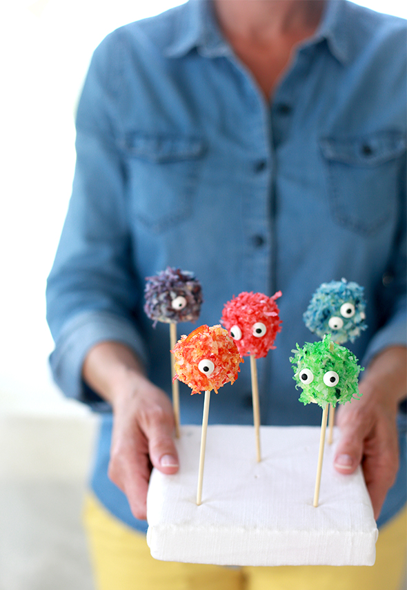 how to make monster marshmallows