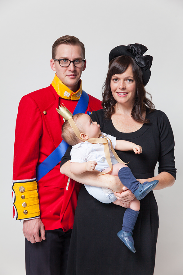 Royal family halloween costume