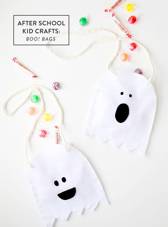 ghost treat bags
