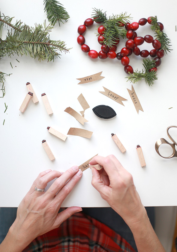 DIY para un servilletero navideño