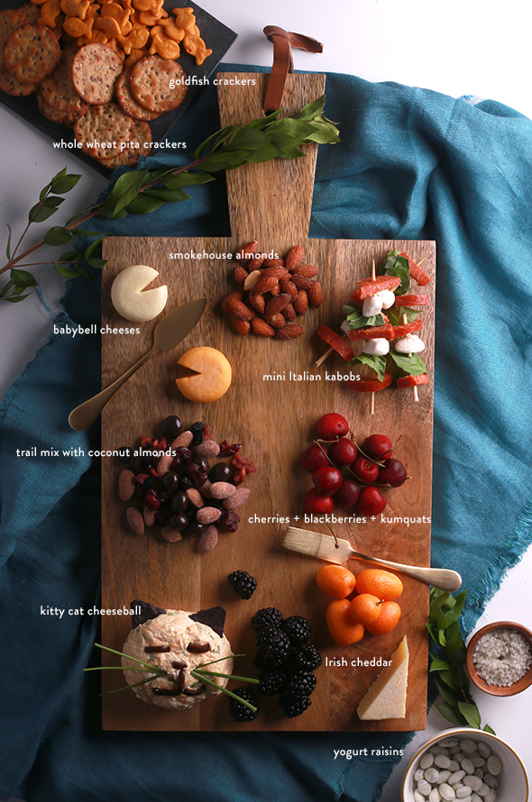 kid friendly cheese plate