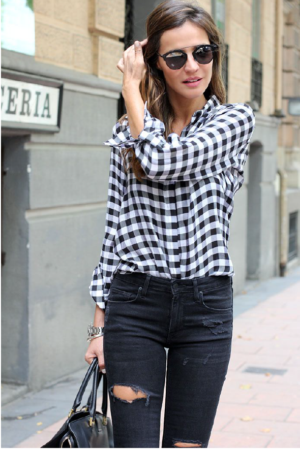 Three ways to wear a flannel shirt - Say YesSay Yes