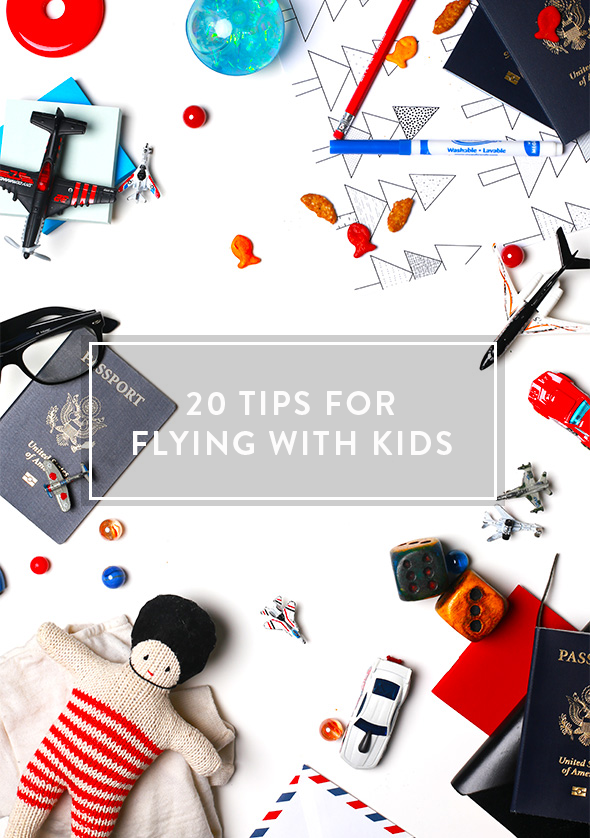20 tips for flying with kids