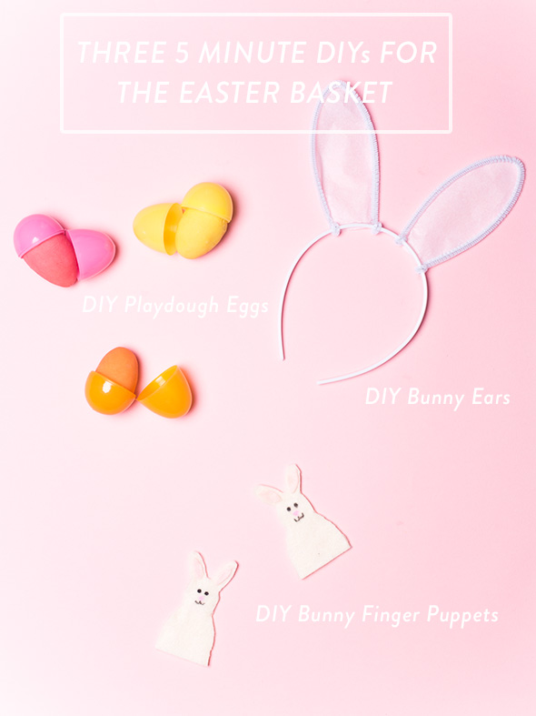 Easter basket DIYs