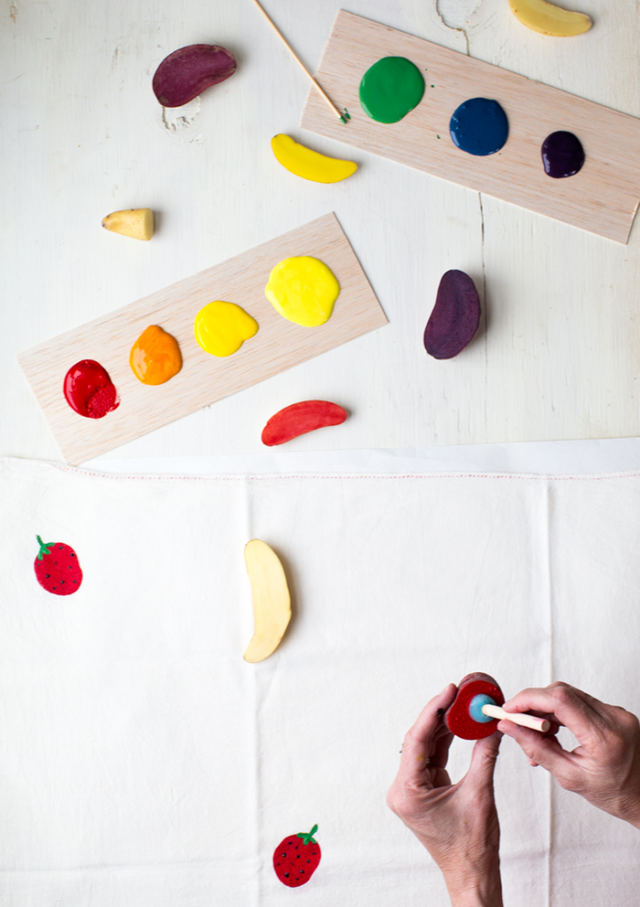 potato stamping ideas
