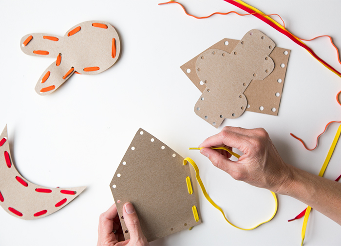 make your own sewing cards