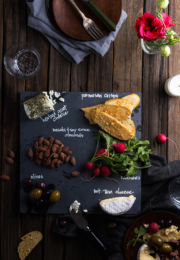 DIY Slate Cheeseboard for $3 & DIY Slate Cheeseboard for $3 - Say Yes