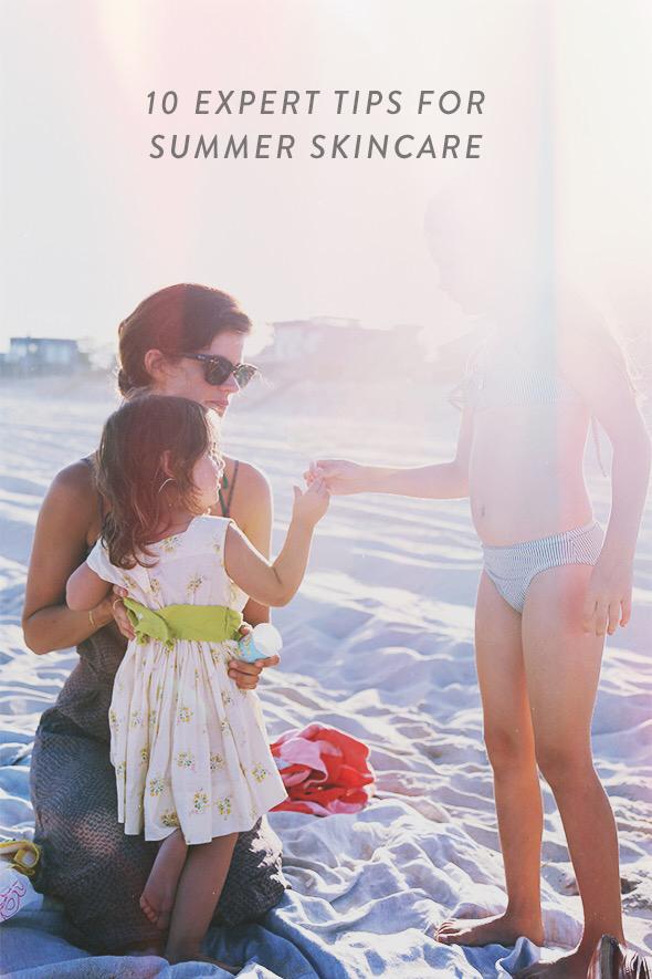 summer skincare tips expert