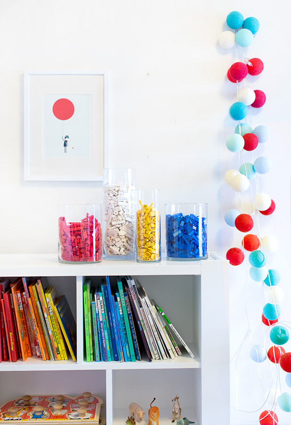 brilliant lego storage idea