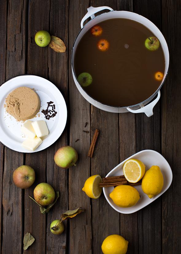 buttered cider