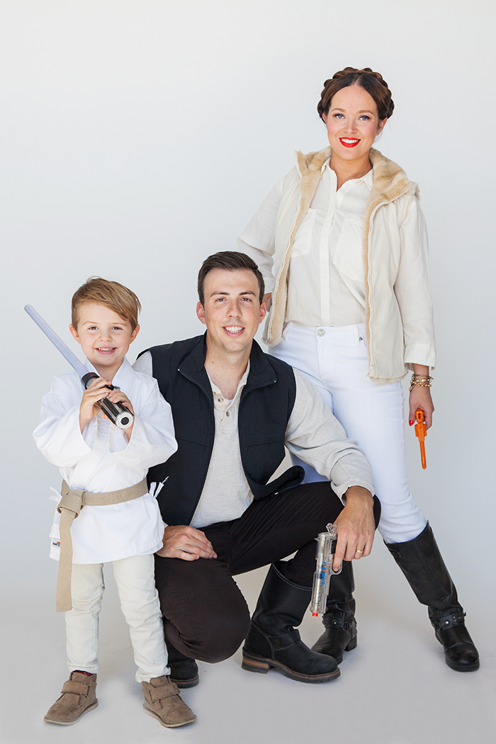 halloween family costumes star wars say yes. Black Bedroom Furniture Sets. Home Design Ideas