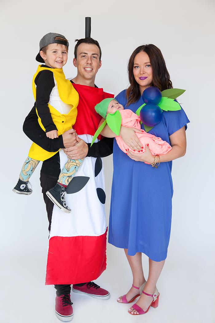 Halloween Family Costume Fruit Basket Say Yes