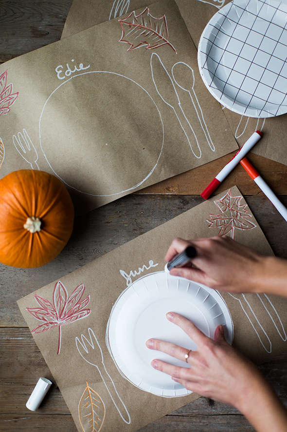 placemats craft ideas the thanksgiving table say yes 2707
