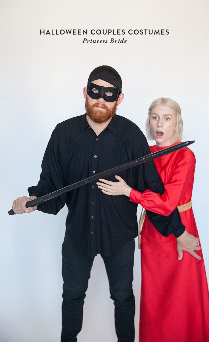 halloween couples costumes princess bride