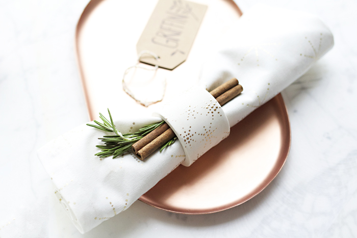 DIY Napkin Rings Styled 2