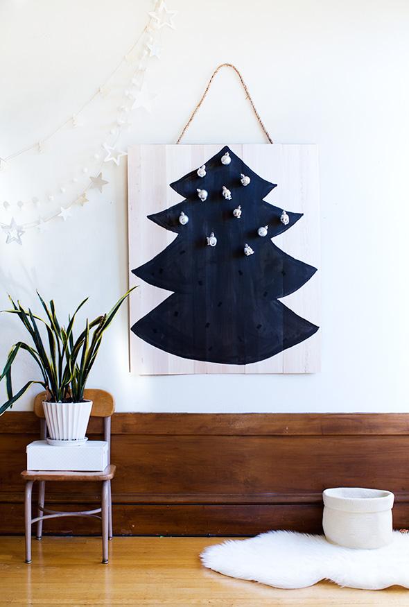 balsa wood advent calendar