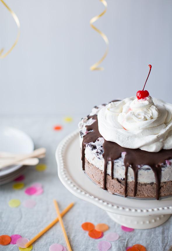 Homemade Carvel Ice Cream Cake Say Yes