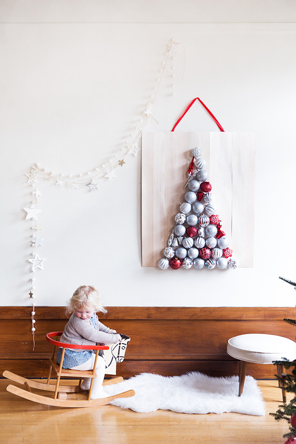 DIY Ornament Tree - DIY Ornament Tree - Say Yes