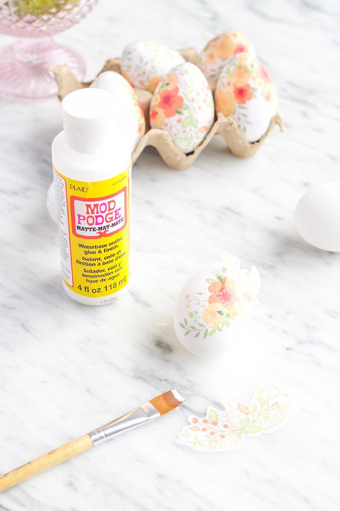 Mod Podge Eggs