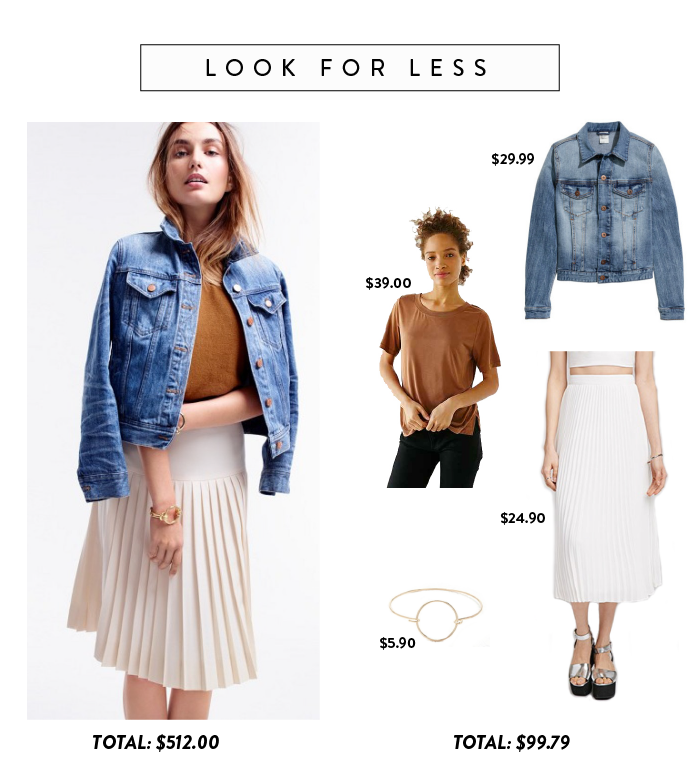 look for less