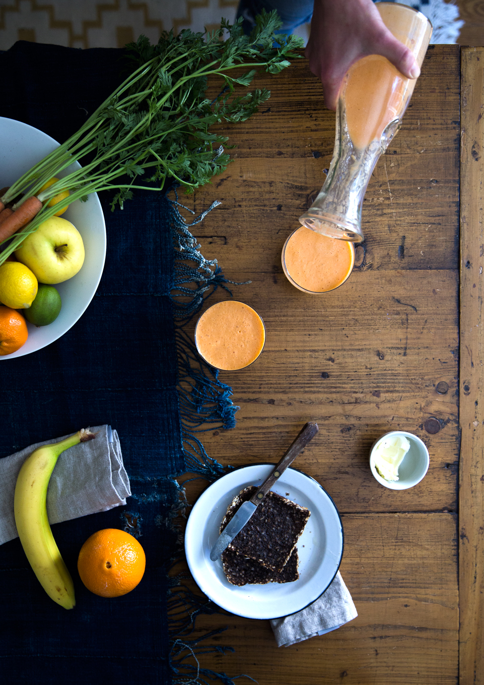 carrot ginger smoothie