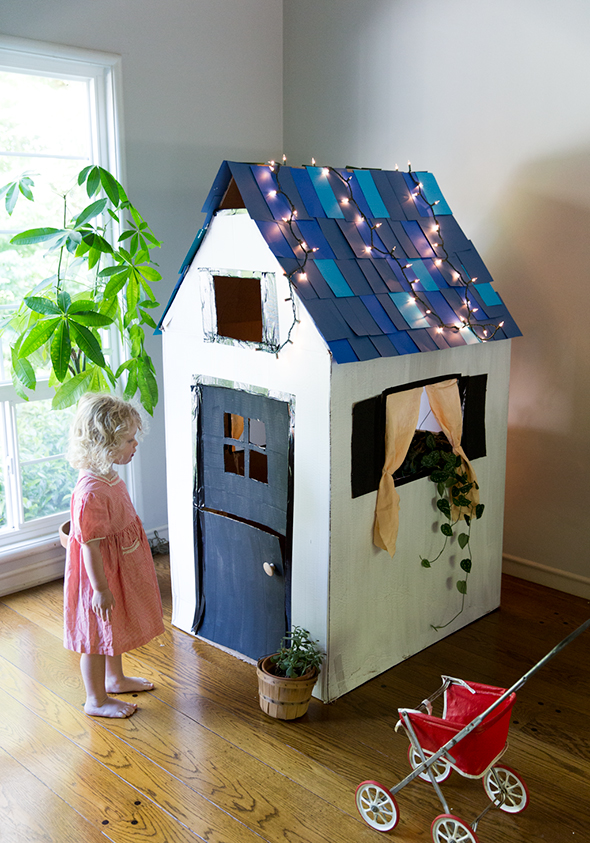 The Process And Tips For How We Put Our Playhouse Together Together