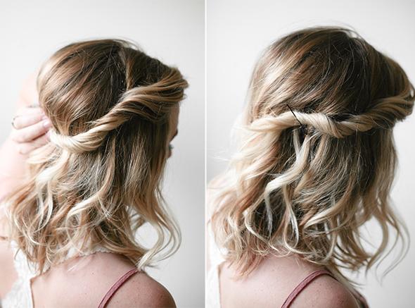 twist hair tutorial