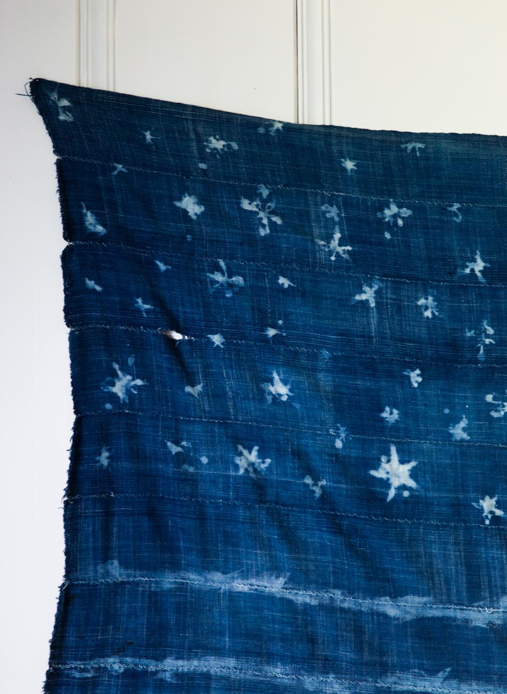 Diy Indigo Mudcloth American Flag Say Yes