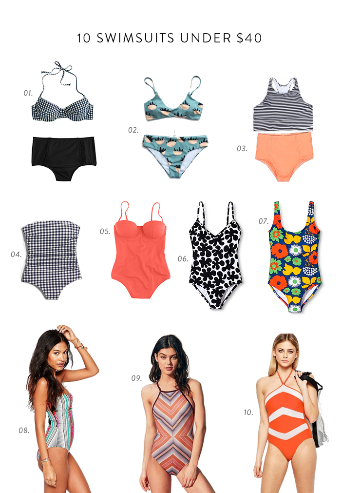 swimsuits under $40