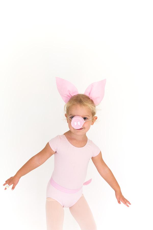 Pig halloween costume