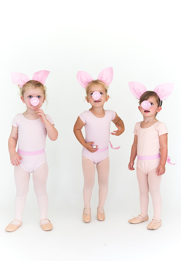 Three Little Pigs Halloween Costume Say Yes
