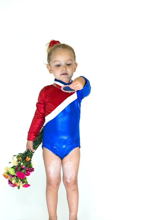 gymnast halloween costume